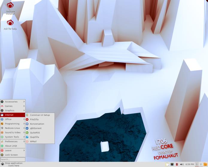 Redcore Linux 1710 lançado - Confira as novidades e baixe