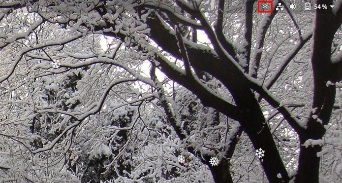 Como exibir neve no Gnome com a extensão Gsnow