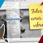 Como usar o GIMP para deixar as fotos com cores mais vibrantes