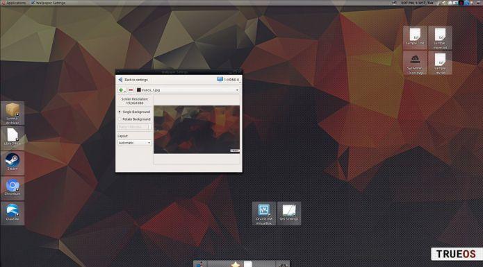 TrueOS 17.12 lançado - Confira as novidades e baixe