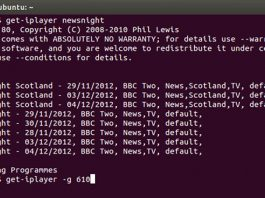 Como baixar programas da BBC com o get-iplayer