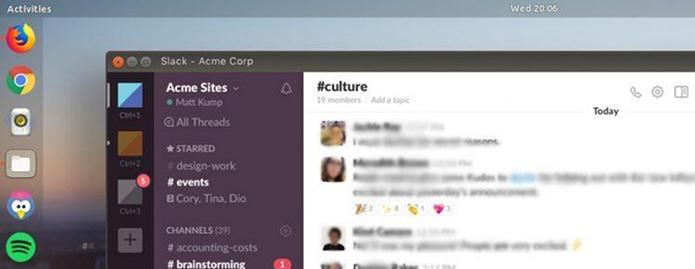 Como instalar o cliente Slack no Linux via Snap