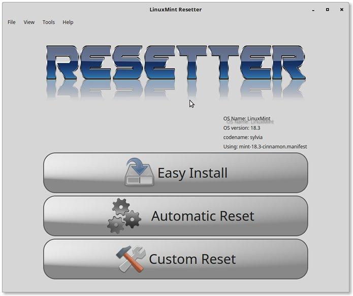 Como resetar o Ubuntu para seu estado original via Resetter