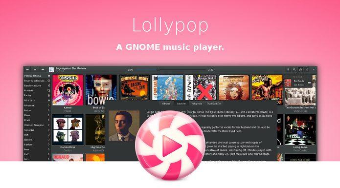 Como instalar o Music Player Lollypop no Linux via Flatpak