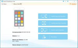 Review do EaseUS MobiMover Free, um software de transferência de dados para iPhone
