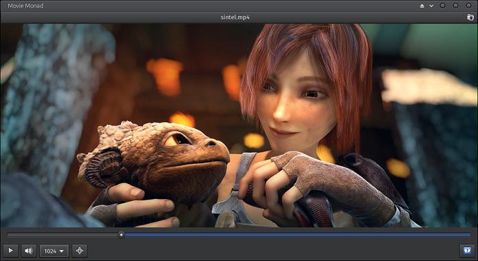 Como instalar o reprodutor de vídeos Movie Monad no Linux
