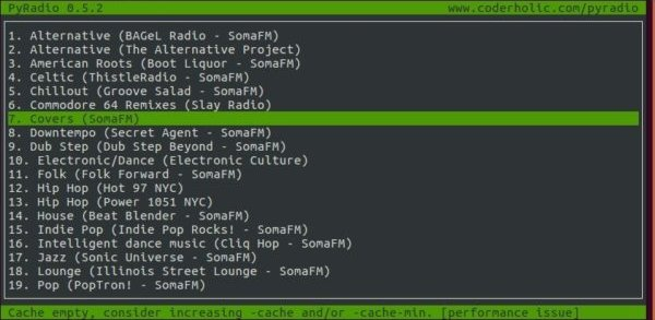Como ouvir rádios online no terminal com PyRadio