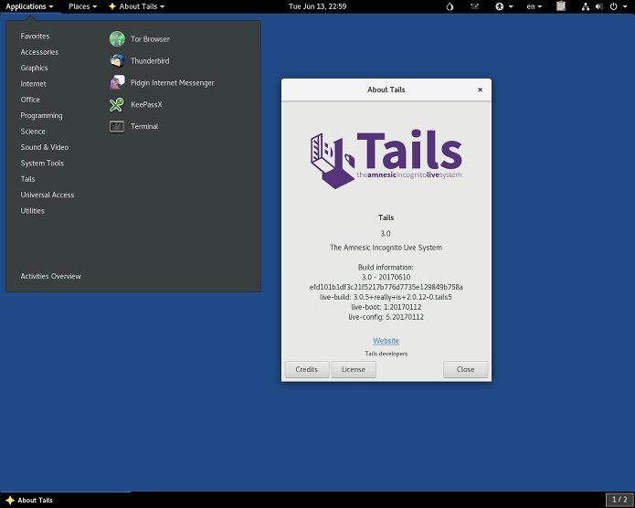 Tails 3.4 lançado - Confira as novidades e baixe