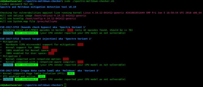 Como verificar e corrigir as falhas Meltdown e Spectre no Linux