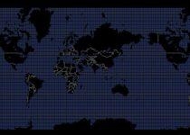 Como visualizar o mapa mundial no terminal com o MapSCII