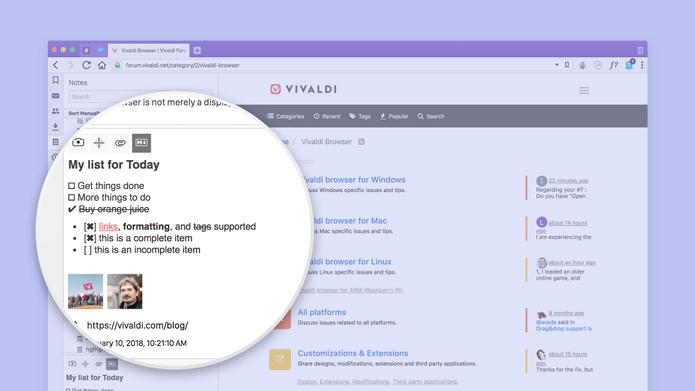 Lançado Vivaldi 1.14 com modo de leitura vertical