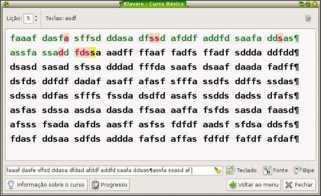Como instalar o app de digitação Klavaro no Linux