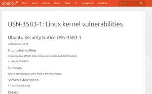 Canonical lançou uma atualização do Kernel para o Ubuntu 14.04