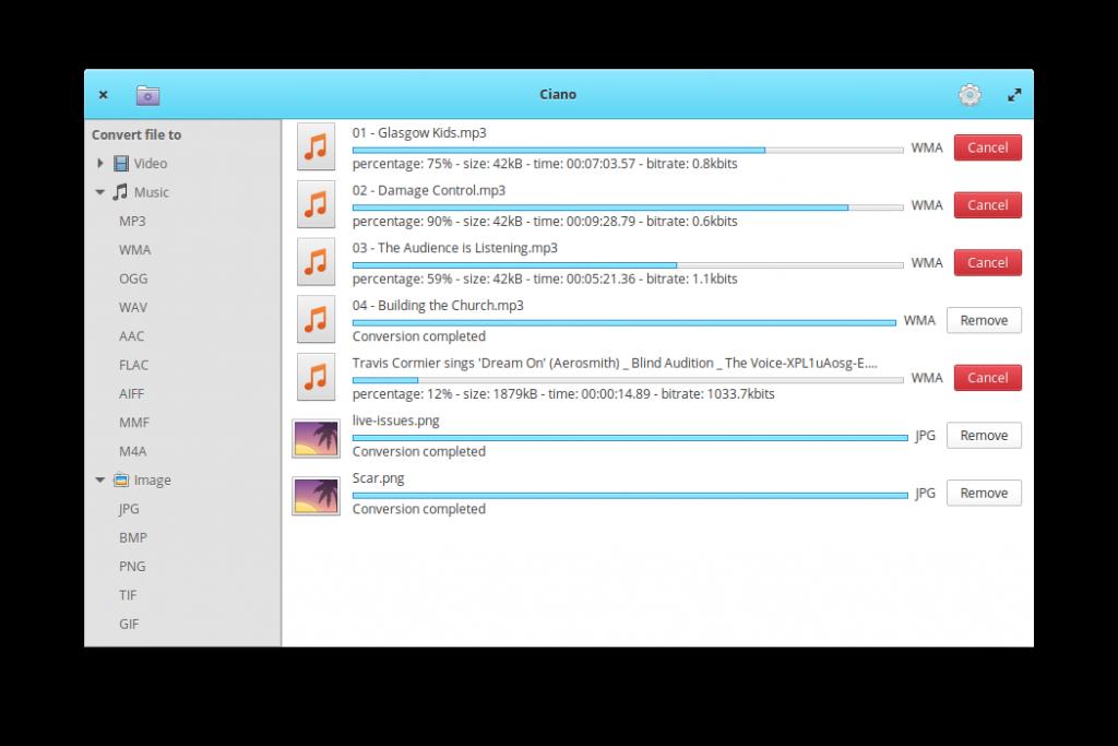 Como instalar o conversor multimídia Ciano no Linux via Flatpak