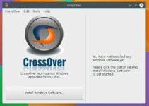 Como instalar a interface para Wine CrossOver no Linux