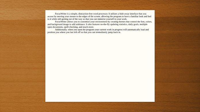 Como instalar o editor FocusWriter no Linux via Flatpak