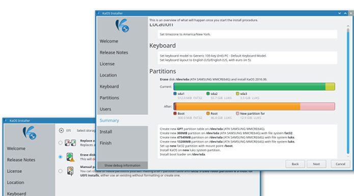 Calamares 3.2 permitirá escolher o visual do KDE Plasma Desktop