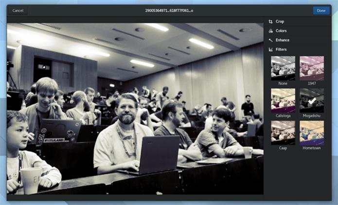Como instalar o GNOME Photos no Linux via Flatpak