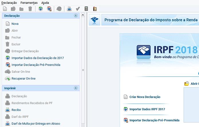 Como instalar a versão multiplataforma do IRPF 2018 no Linux manualmente