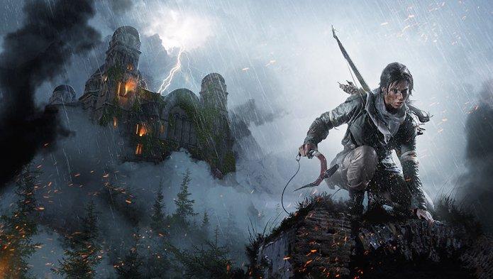 Game Rise of the Tomb Raider está chegando ao Linux