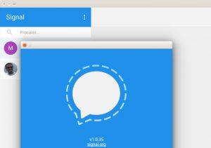 Como instalar o mensageiro Signal no Linux via Flatpak