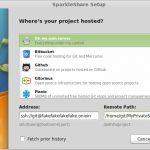 Como instalar o SparkleShare no Linux via Flatpak