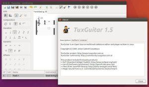 Como instalar o editor de partituras TuxGuitar no Linux