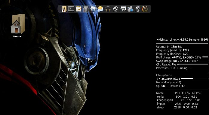 4MLinux 24.0 lançado – Confira as novidades e baixe