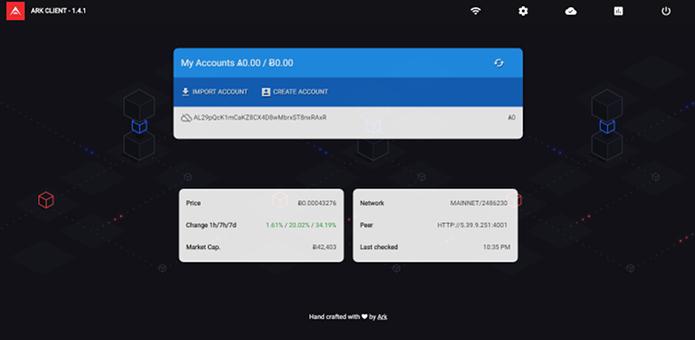 Como instalar a carteira ARK Desktop Wallet no Linux via Flatpak