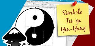 Como criar o símbolo Tei-gi, Yin-Yang usando o Inkscape