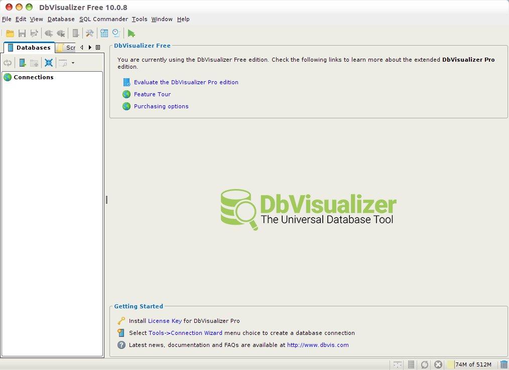 Como instalar o gerenciador de bancos de dados DbVisualizer no Linux