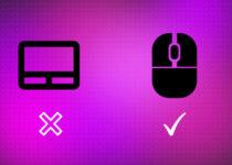 Como desativar automaticamente o touchpad quando o mouse estiver conectado