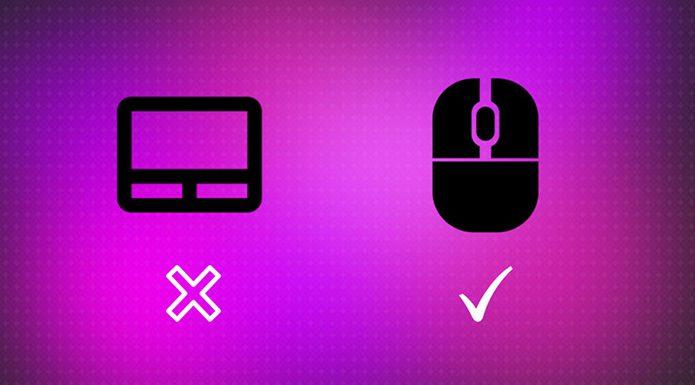 Desativar automaticamente o touchpad quando o mouse estiver conectado