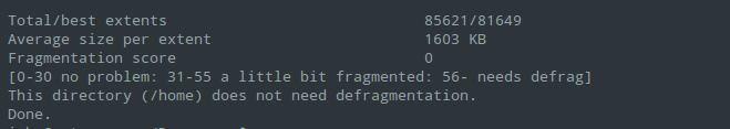 Desfragmentar partições no Linux? Veja como fazer