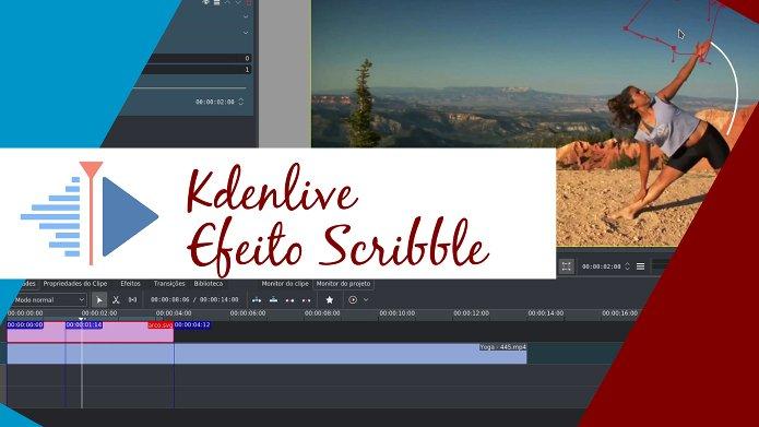 Descubra como fazer para usar o efeito Scribble no Kdenlive
