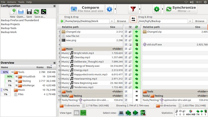 Como instalar o FreeFileSync no Linux via Flatpak