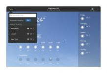 Como instalar o app GNOME Weather no Linux via Flatpak