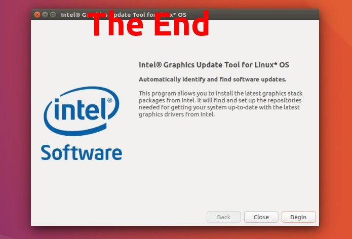 Ferramenta Intel Graphics Update Tool for Linux será descontinuada