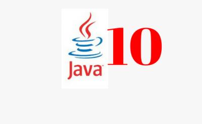 Rapido, né? Oracle já anunciou a disponibilidade do JDK 10!