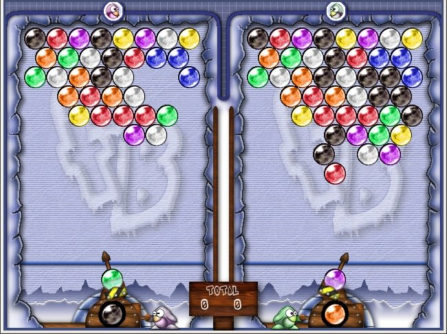 Como instalar o jogo Frozen Bubble no Linux via Flatpak
