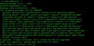 Mantenha apenas pacotes essenciais com Debfoster no Ubuntu/Debian