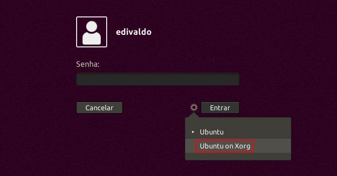 Como mudar do servidor gráfico Wayland para o Xorg no Ubuntu 17.10