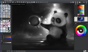 Como instalar o programa de pintura digital MyPaint no Linux via Flatpak