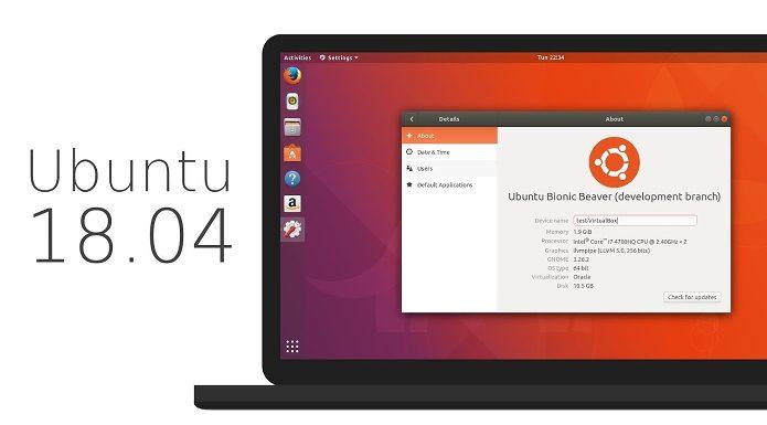 Confira as principais novidades do futuro Ubuntu 18.04 LTS