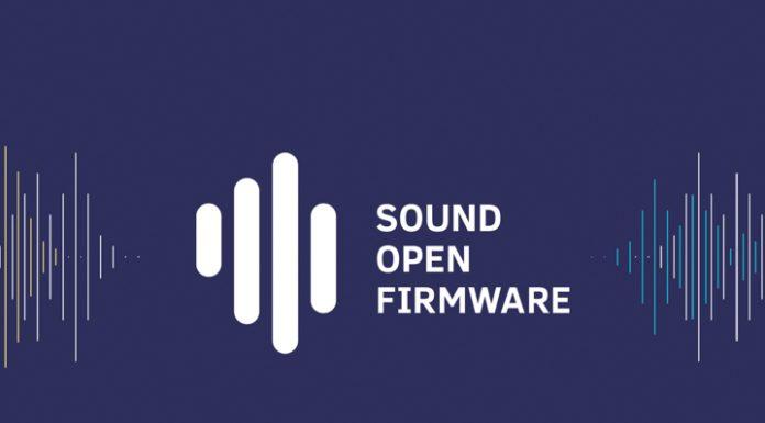 Sound Open Firmware se tornou um projeto da The Linux Foundation