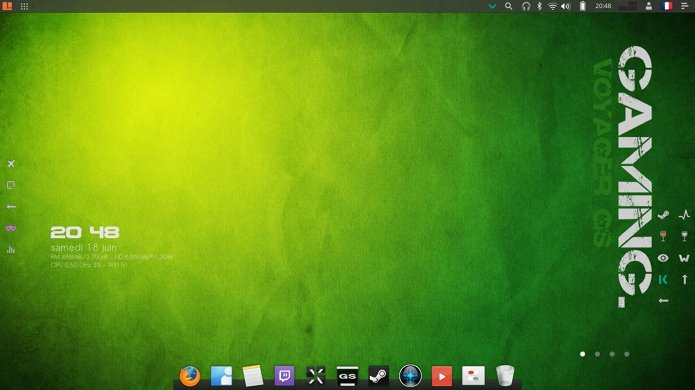 Voyager GS Gamers - um Ubuntu LTS voltado para jogos
