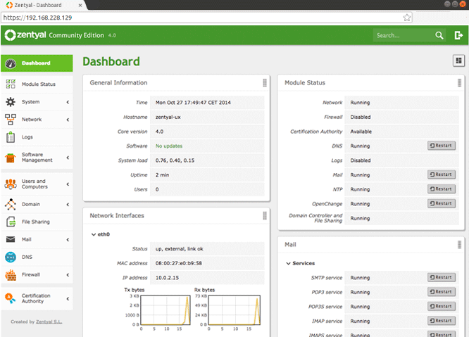 Zentyal Server 5.1 lançado - Confira as novidades e baixe