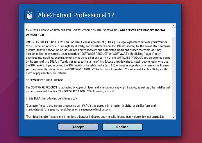 Como instalar o editor de PDF Able2Extract Professional no Linux