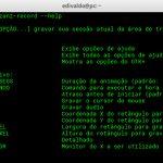 Como fazer captura de tela a partir do terminal usando o Byzanz