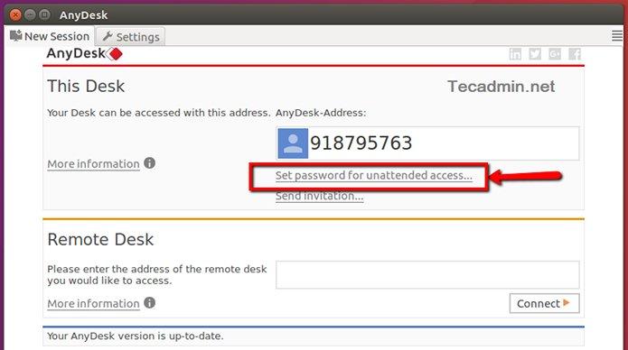 Como instalar o cliente AnyDesk no Linux via Flatpak